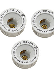 3шт E26 для e12-e12-лампочками аксессуары-конвертер