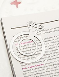 1pcs Engagement Ring Bookmark Favor Beter Gifts® Wedding Presents