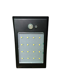 Outdoor 16 LEDs Waterproof Light for Path Garden Solar Powered Motion Sensor Wall Lamp