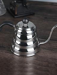1000 chaleira de café de aço inoxidável, 8 copos preparar café reutilizáveis