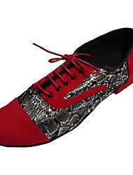 Customizable Men's Latin Ballroom Dance Shoes