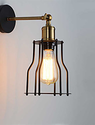 Max 60W Loft vintage Wall Lights Industrial Edison Fashion Simplicity Wall Sconces Metal Base Cap