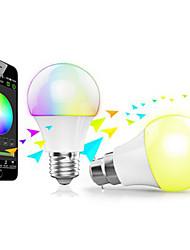 magie uu bleu contrôle bluetooth ampoule app / 16 millions de couleurs / calendrier / scènes / économie d'énergie / réglage de la