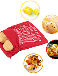 Washable Cooker Bag Baked Potato Microwave Cooking Potato Quick Fast Cooks 4 Potatoes 1 Time