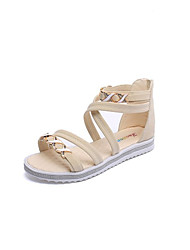 British philosophy of summer sandals female joker beach shoes flat sandals to Rome