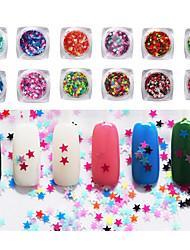 12PCS Decoración de uñas Las perlas de diamantes de imitación maquillaje cosmético Dise?o de manicura