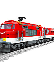 Stress Relievers For Gift  Building Blocks Model & Building Toy Train ABS 5 to 7 Years 8 to 13 Years Red Toys