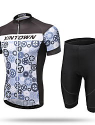 XINTOWN® Wheel Men's Cycling Clothing Team Cycling Jerseys And Shorts Bicycle Shirts Tights