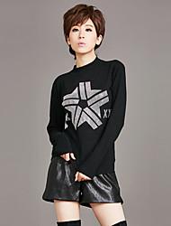 знак европы зима женщин&# 39, S нового свитер половины высокого воротника теплая шерстяная рубашка дно верхней одежда горячей дрели