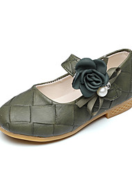 Flats Spring Fall Comfort Flower Girl Shoes Leatherette Wedding Outdoor Office & Career Party & Evening Dress Casual Flat HeelMagic Tape