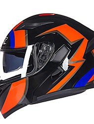 GXT 902 Wolf Motorcycle Electric Cars Double Lens Anti-Fog Open Face Helmet Full Cover Unisex Colorful