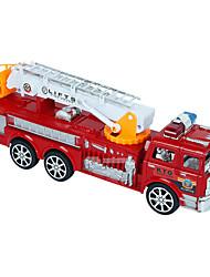 Camion dei pompieri Giocattoli 1:24 Metallo Plastica Rosso