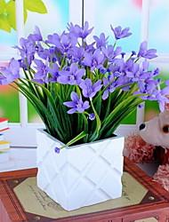 1 Филиал Пластик Орхидеи Букеты на стол Искусственные Цветы