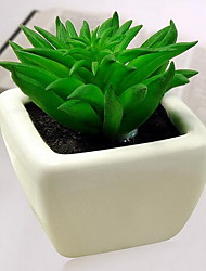 1 Branch Plastic Artificial Plant