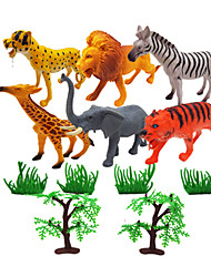 Figurines d'Action & Animaux en Peluche Modèle d'affichage Maquette & Jeu de Construction Animal Plastique Arc-en-ciel