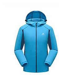 Trilha Blusas Unissexo Secagem Rápida Primavera Verão Outono Vermelho Cinzento Azul M L XL Esportes Relaxantes