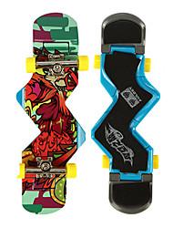 Mini Skateboards & Bikes Leisure Hobby Skate ABS Plastic Navy For Boys For Girls