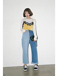 Новые цветные кисточки дикие джинсы
