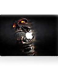 For MacBook Air 11 13/Pro13 15/Pro with Retina13 15/MacBook12  Person Cranial Head Decorative Skin Sticker