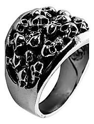 Ringe Alltag Normal Schmuck Aleación Ring 1 Stück,18 19 20 21 Silber
