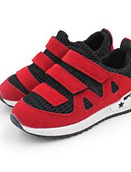 Sneakers Spring Summer Fall Comfort First Walkers Light Soles Suede Outdoor Athletic Casual Low Heel Hook & Loop Green Pink Red Walking
