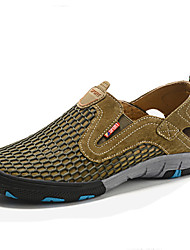 Men's Shoes Summer Outdoor Sports Breathable Sandals with Recreational Shoe Surface Round Head And Low Help Shoes