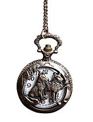Taschenuhr Quartz Legierung Band Bronze Bronze