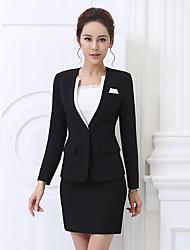 Sign 2017 spring new female small suit jacket Slim was thin OL female fashion large size women long sleeve