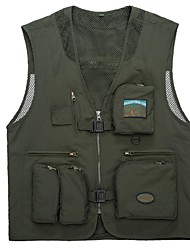 Men Outdoor Sports Jacket Camping Hiking Fishing Waistcoat Breathable Windproof Jackets Fashion Jackets