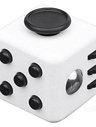 Creative Stylish Anxiety Reliever Fidget Dice Cubic for Focusing/Stress Relieving Random Color