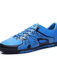 Herren-Sneaker-Sportlich-PU-Flacher Absatz-Andere-Blau Grün Weiß