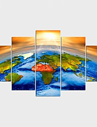 Stretched Canvas Print Still Life Modern,Five Panels Canvas Any Shape Print Wall Decor For Home Decoration