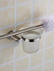 Escovas e acionistas WC Contemporânea Outros Aço Inoxidável
