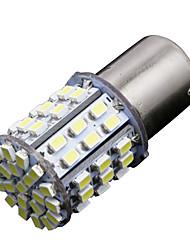 gc® 1156 / BA15S 7.5W 500LM 85x3020 bianco smd per la luce di girata sterzo / lampada della luce del freno (DC12V)