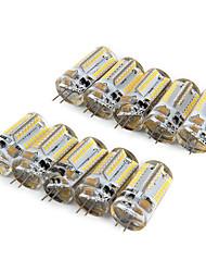 4W G4 LED Corn Lights T 64 SMD 3014 210 lm Warm White Cool White AC 220-240 V 10 pcs