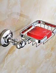 Mordern Style Solid Stainless Steel Bathroom Shelf Bathroom Soap Basket Bathroom Accessories
