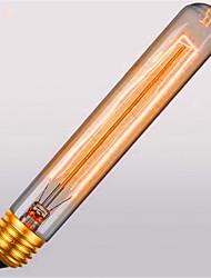 t30-185 e27 atmosfera retro 40w nas lâmpadas decorativas retro tubo apito