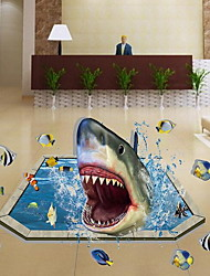 3D Animals Wall Stickers Vinyl Material