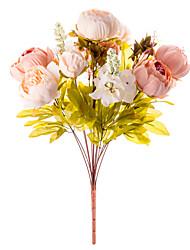 1 Ast Seide Pfingstrosen Tisch-Blumen Künstliche Blumen 50 x 30 x 30(19.69'' x 11.81'' x 11.81'')