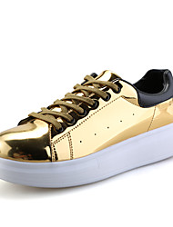 Men's Shoes Casual Fashion Sneakers Gold / Grey