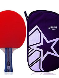 2 Stars Table Tennis Rackets Rubber Short Handle Indoor Leisure Sports