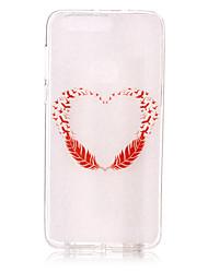 Para Diseños Funda Cubierta Trasera Funda Corazón Suave TPU para Huawei Huawei P9 Lite Huawei P8 Lite Huawei Honor 8 Huawei Nova