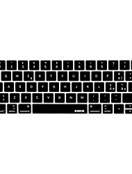 xskn® pele teclado de silicone italiano e protetor barra de toque para 2016 mais novo MacBook Pro de 13,3 / 15,4 com display touch bar