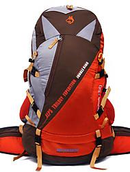 50 L Rucksack Camping & Wandern Klettern Reisen Draußen Leistung Legere Sport Wasserdicht Regendicht Wasserdichter Verschluß Staubdicht
