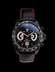 Sport Watch Quartz Alloy Band Vintage Black