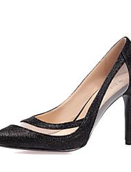 Women's Heels Spring Summer Fall Winter Other Glitter Tulle Wedding Outdoor Office & Career Party & Evening Dress Casual Stiletto Heel