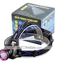 U'King® ZQ-X804 CREE XM-L T6 2000LM 3Modes Zoomable Headlamp Purple Head