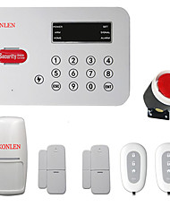 PSTN Wireless Alarm Systems Security Home House Voice Auto Dialer Burglar Alarma Case with Smart Mini Magnetic Door PIR Sensor