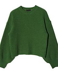 2017 Frühjahr neue koreanische Version von Puff Pullover weibliche Pullover