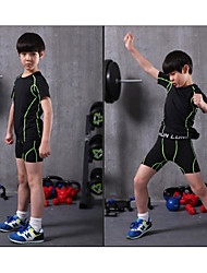 Kid's Soccer Clothing Sets/Suits Breathable Quick Dry Sweat-wicking Comfortable Spring Summer Fall/Autumn Winter Curve PolyesterLeisure